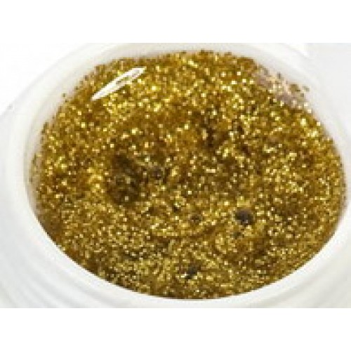 Color gél 21 - Glitrový zlatý 5ml