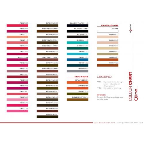 Pigment BIOEVOLUTION QLine RED 765 - 5 ml