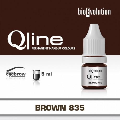 Pigment Brown BIOEVOLUTION QLine 835 - 5 ml