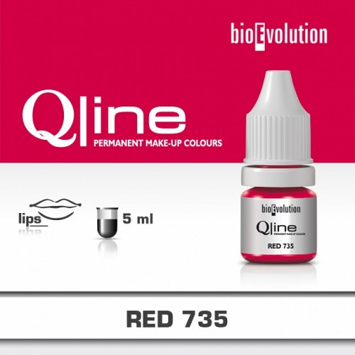 Pigment Red BIOEVOLUTION QLine 735 - 5 ml