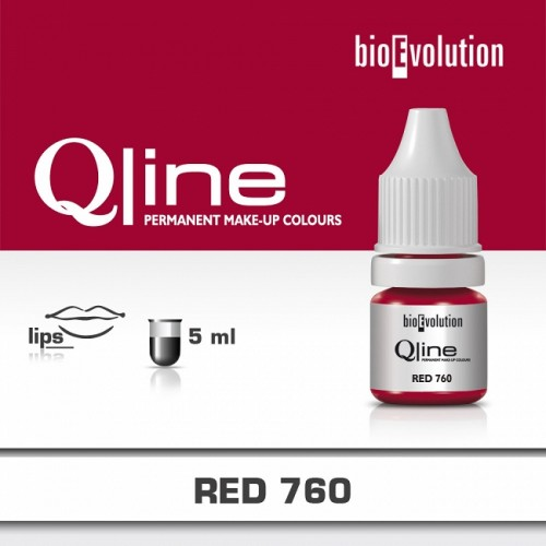 Pigment BIOEVOLUTION QLine RED 760 - 5 ml